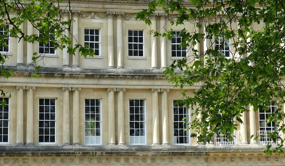 Aluminium secondary glazing in Bath
