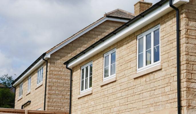 uPVC Slimline windows in Bath