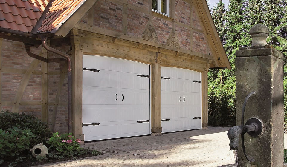 Double Garage Doors in Bath