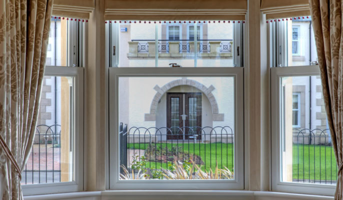 uPVC Vertical/Sliding sash windows in Bath