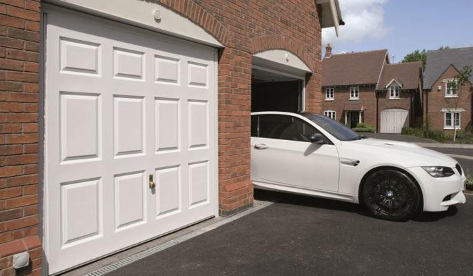 Up and over Garage Door in Bath