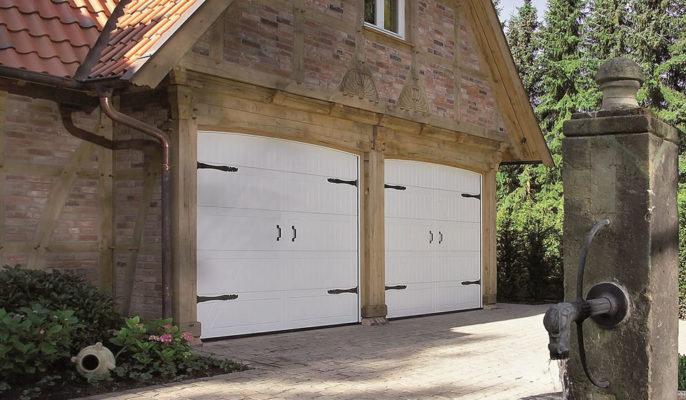 Double Garage Doors in Bath