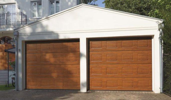 Panel Garage Door in Bath