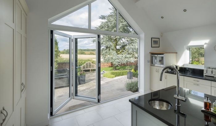 Aluminium Bi-folding/Multi Folding Doors in Bath