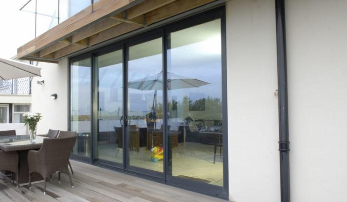 Aluminium Inline-sliding Patio Doors in Bath