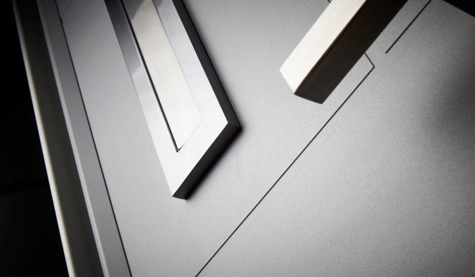Steel Designer Front Door in Bath