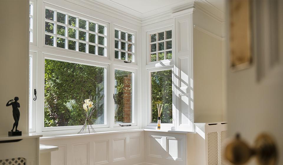 uPVC Flush casement windows in Bath